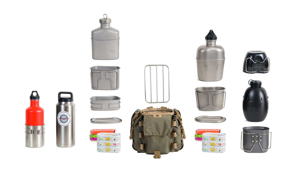 Internal storage for a variety of canteen systems PLUS extra gear!