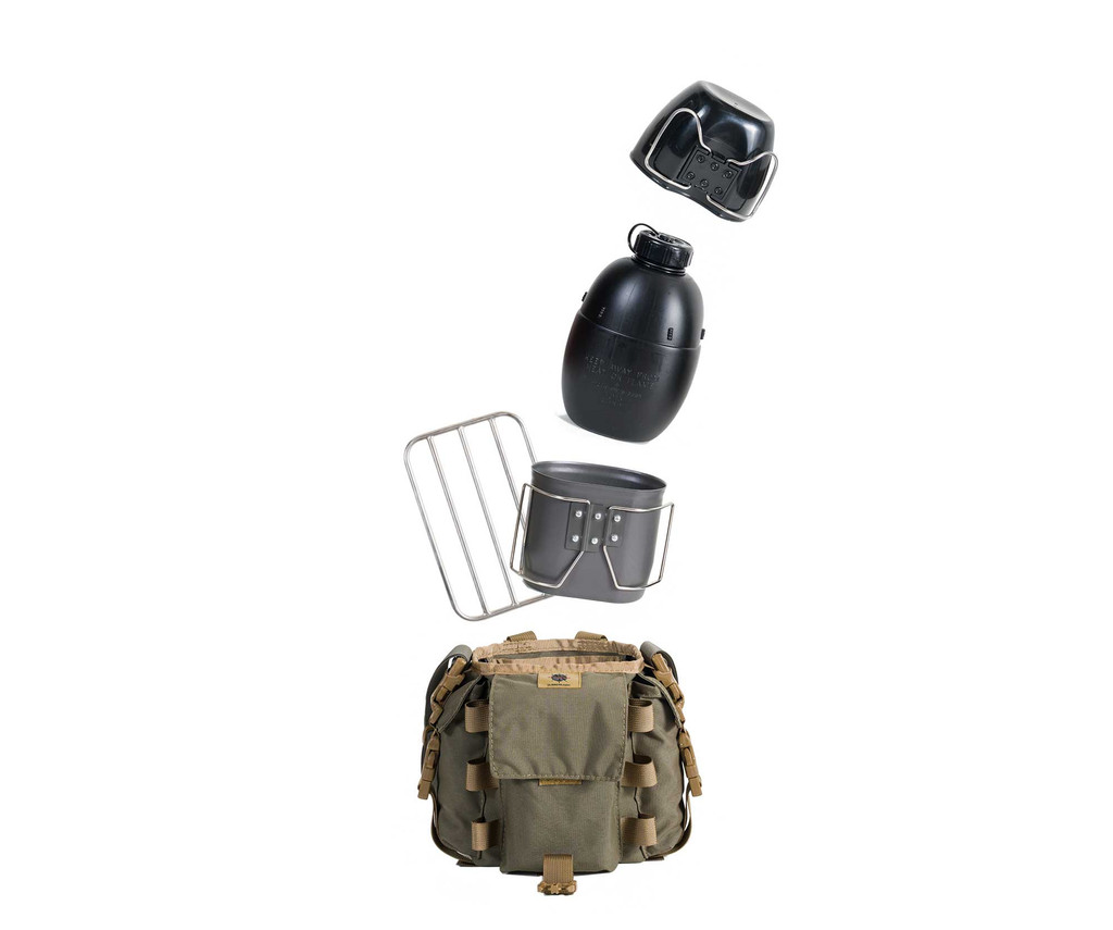 Crusader/Osprey Canteen Kit plus a Solo Grill blow out pic
