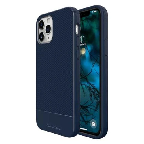 """Stuffcool Shield Armour Soft Back Case Cover for Apple iPhone 12 Pro Max 6.7"""" (Blue)"""