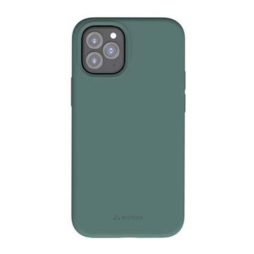 """Stuffcool Silo Soft & Smooth Slimmest Back Case Cover for Apple iPhone 12 Pro Max 6.7"""" (Green)"""