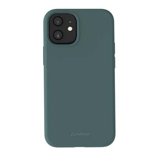 Stuffcool Silo Soft & Smooth Slimmest Back Case for Apple iPhone 12 Mini (Green)