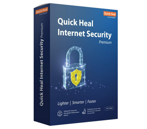 Quick Heal Internet Security - 1 PC, 3 Year