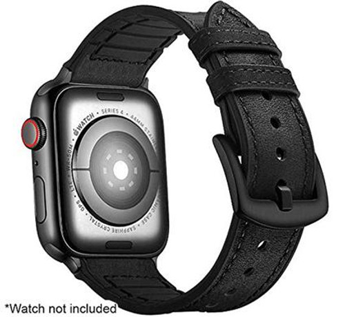 Stuffcool iWatch Leather Strap Band For Apple Series 6/5/4/3/2/1 42-44mm
