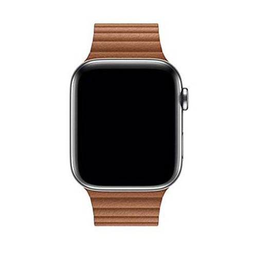 Stuffcool iWatch Leather Loop Strap Band with Adjustable Magnetic Closure For Apple Series 6/5/4/3/2/1 42-44mm