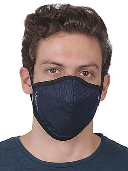SUPERMASK W95 Plus Reusable Outdoor Respirator - POINTEL BLUE - Pack of 5