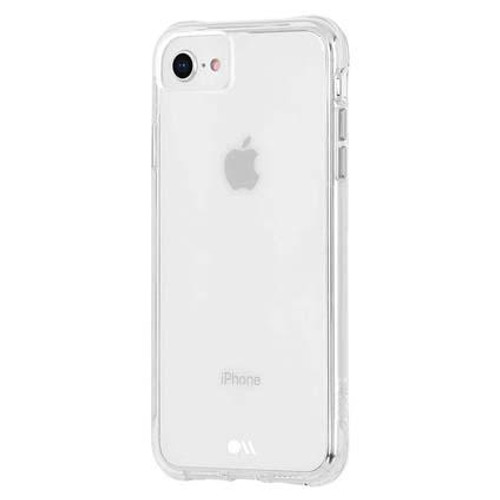 Case-Mate Naked Tough Hard Back Case Cover for Apple iPhone SE 2020 - Clear