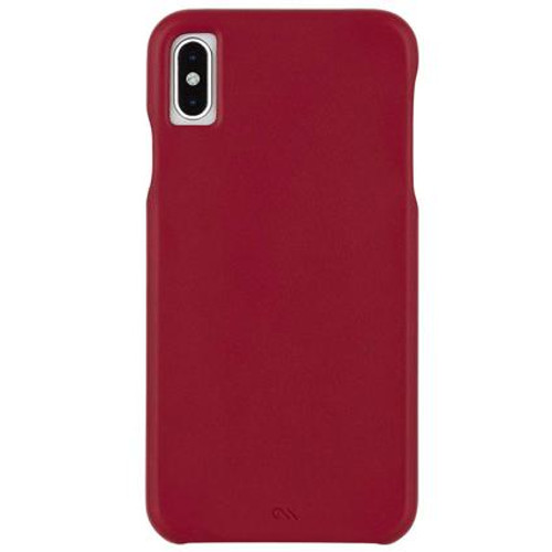 Case-Mate Barely There Leather Back Case Cover for Apple iPhone XS Max