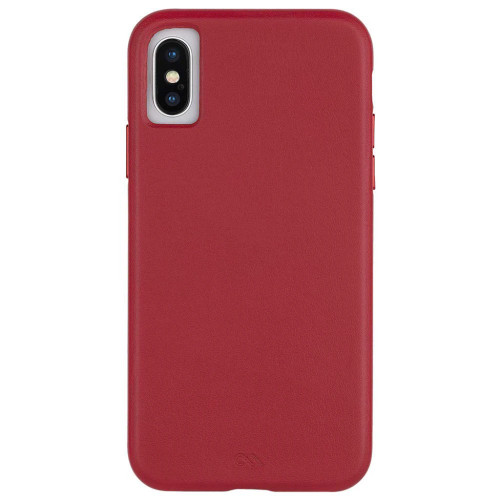 Case-Mate Barely There Leather Back Case Cover for Apple iPhone XS / iPhone X