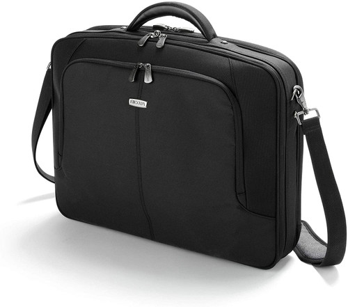 Dicota Multiplus Compact Polyester 14-15.6Inches Notebooks Black Laptop Case
