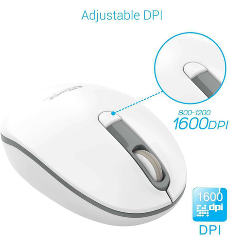 POR 016_Toad 11 - 2.4GHz Wireless Mouse, Grey