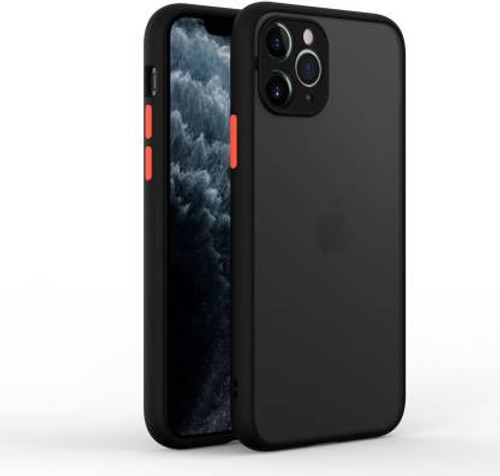 Smoke Silicone iPhone 11 Pro Back Cover + 11D screen guard Combo Offer