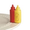 Nora Fleming Ketchup and Mustard Mini A230