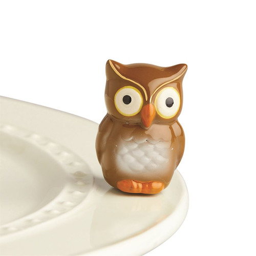 Nora Fleming Be Whoo You Are Owl Mini A235