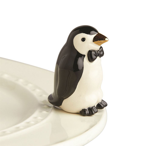 Nora Fleming Tiny Tuxedo Penguin Mini A237