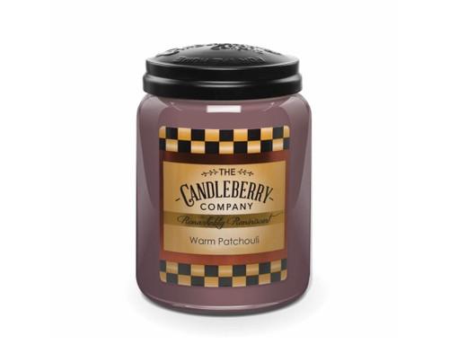 Candleberry Warm Patchouli Large Jar