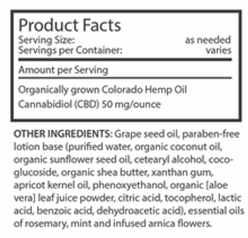 IM·BUE™- Em-body  CBD Lotion 400 mg         8   ounce  bottle