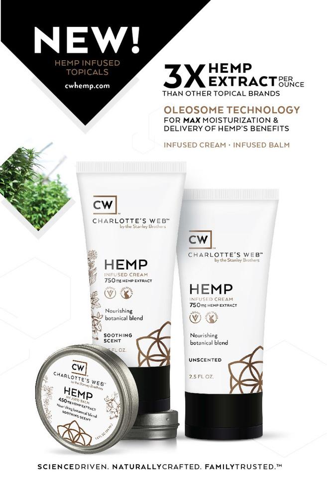 Charlotte's Web - CW Hemp Infused Cream 2.5 oz.