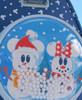Loungefly Disney Snowman Minnie Mickey Snow Globe Mini