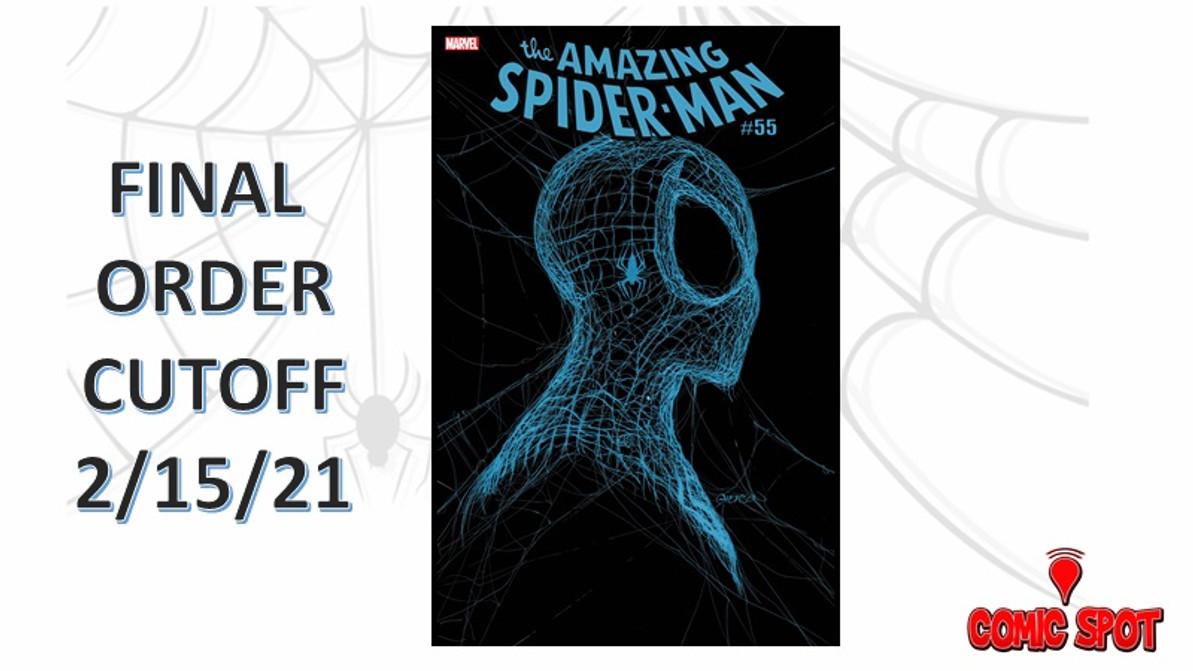 FINAL ORDER CUTOFF - Amazing Spider-Man #55 3rd Print