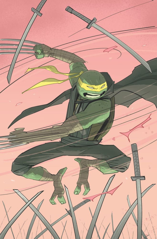 Jennika Goes Solo with TMNT Mini Series