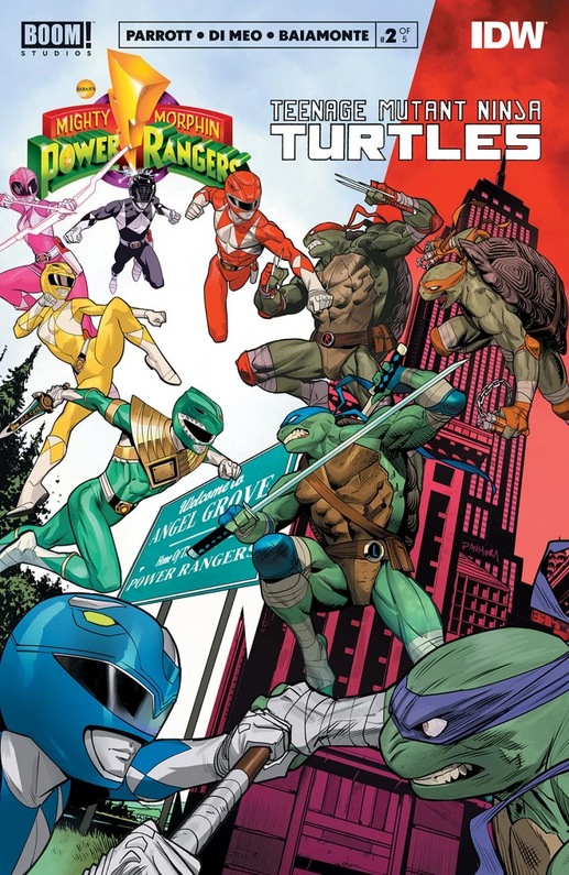 I'm wrong all the time! Power Rangers/TMNT Edition.