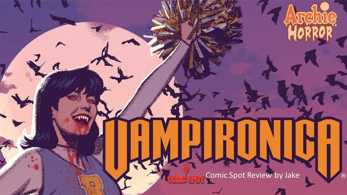 Vampironica- a sinister take on a comic classic