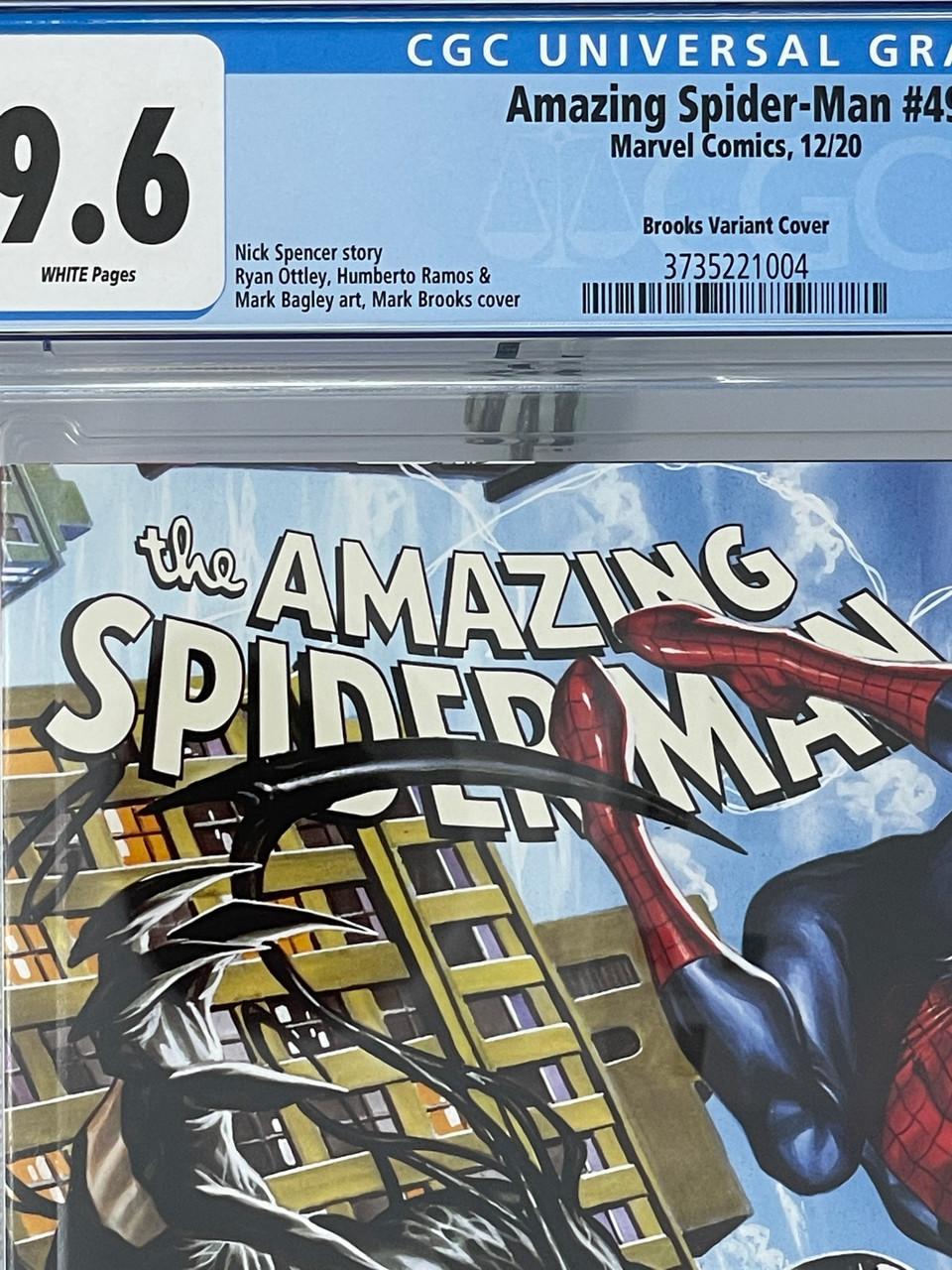 #49 Bagley Variant CGC 9.8 Amazing Spider-Man #850