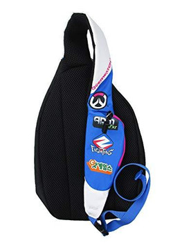 Loungefly Overwatch D.Va Nylon Sling Backpack