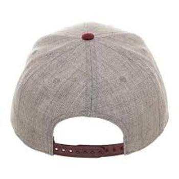 Flash Hat Grey/Red
