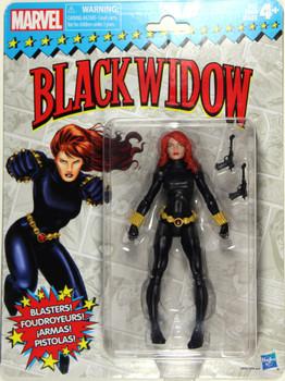 Marvel Legends Vintage Black Widow
