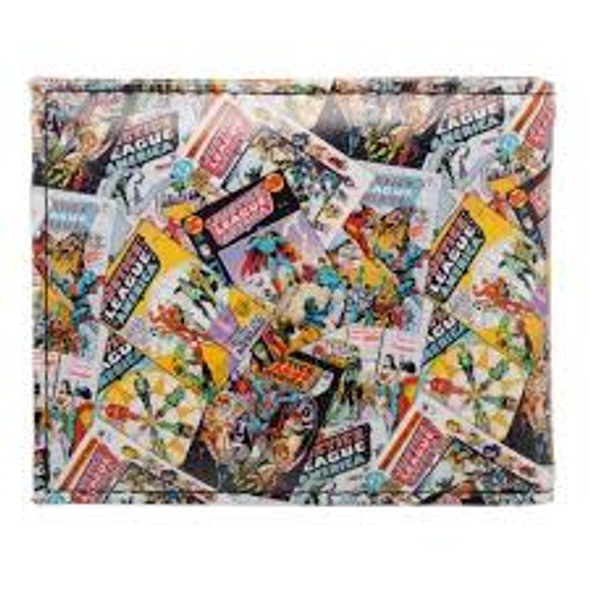 Justice League Bi Fold Wallet