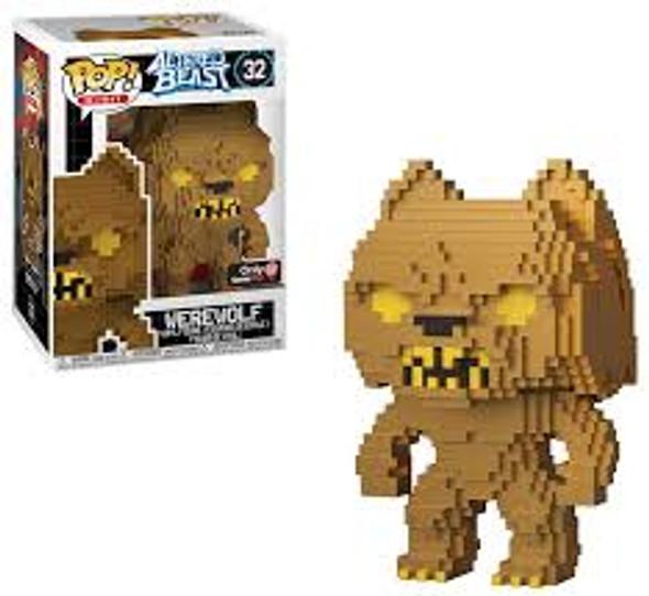 Altered Beast Funko POP! 8-Bit Werewolf Exclusive Vinyl Figure #32 [Gold]