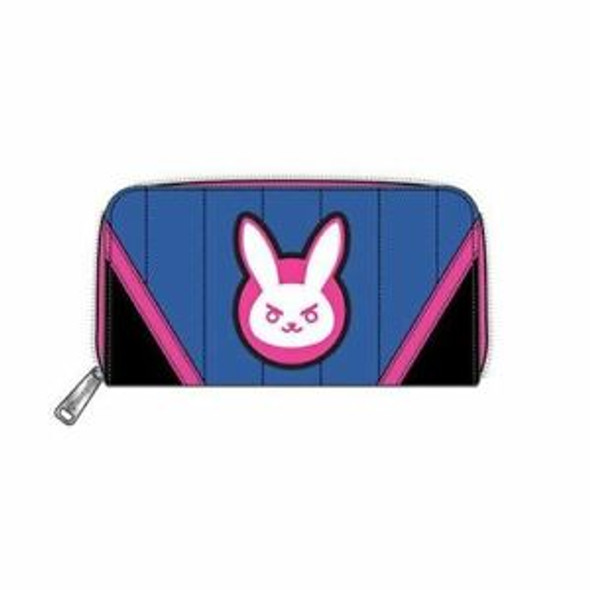 Loungefly D.Va Zip Around Wallet