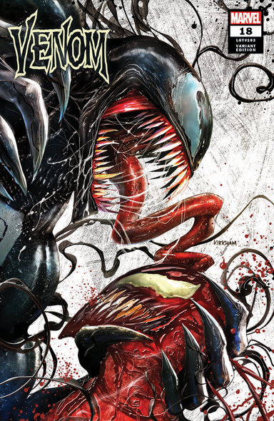 Venom 18 Comic Spot exclusive Tyler Kirkham cover A