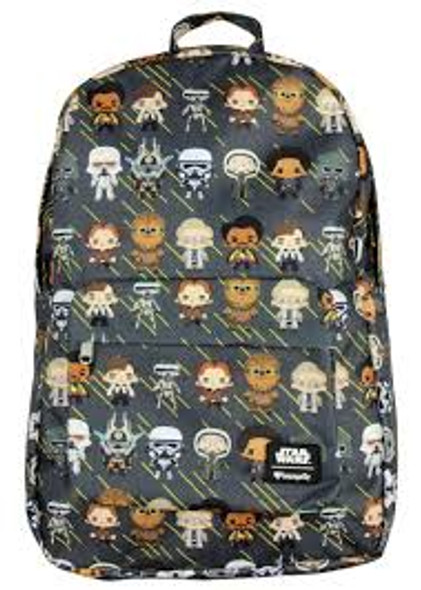 Loungefly Han Solo Chibi Character Backpack