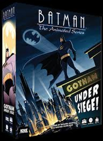 Batman Animated Under Siege