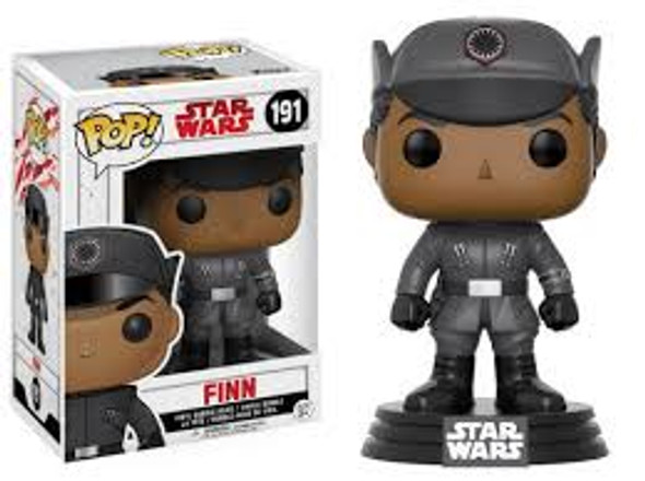 POP Stars Wars The Last Jedi Finn