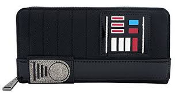 Loungefly Darth Vader Zip Around Wallet