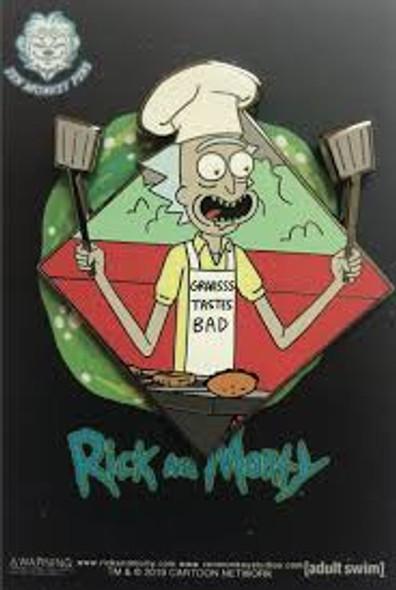Rick And Morty BBQ Pin