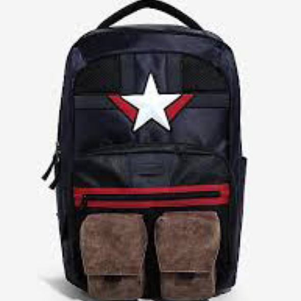 Captain America Backpack Ht