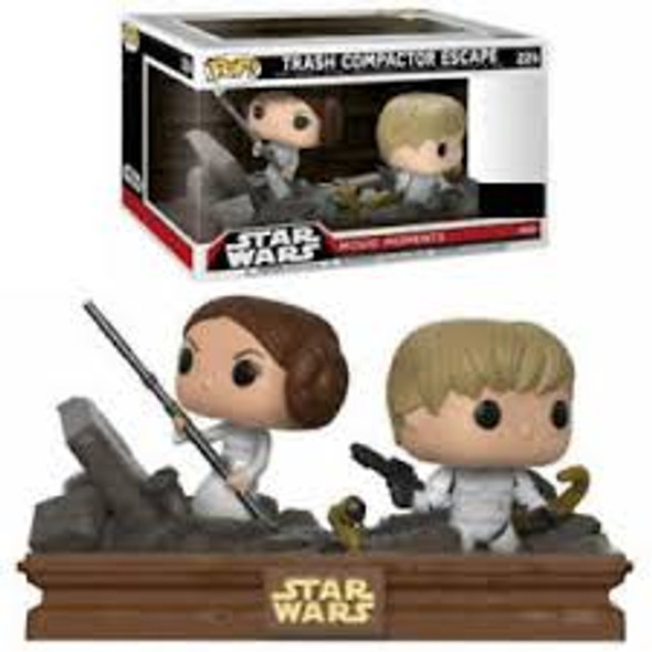 Movie Moments Star Wars Trash Compactor