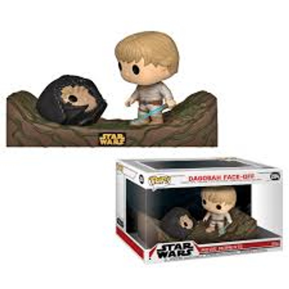 star wars pop dagobah face off