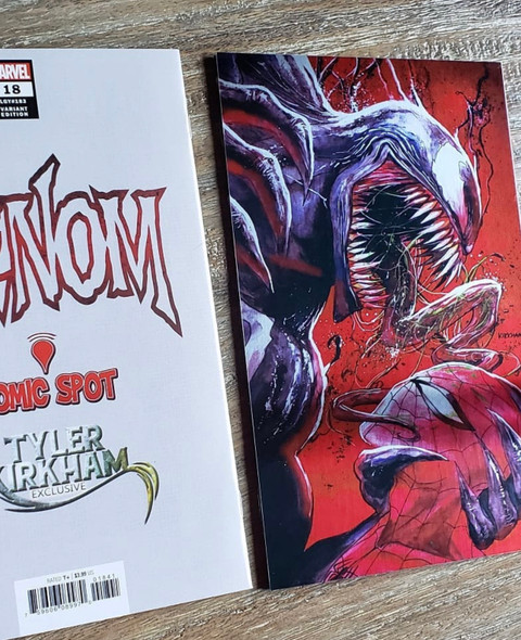 Venom 18 Exclusive Red Metal Cover - LIMITED EDITION