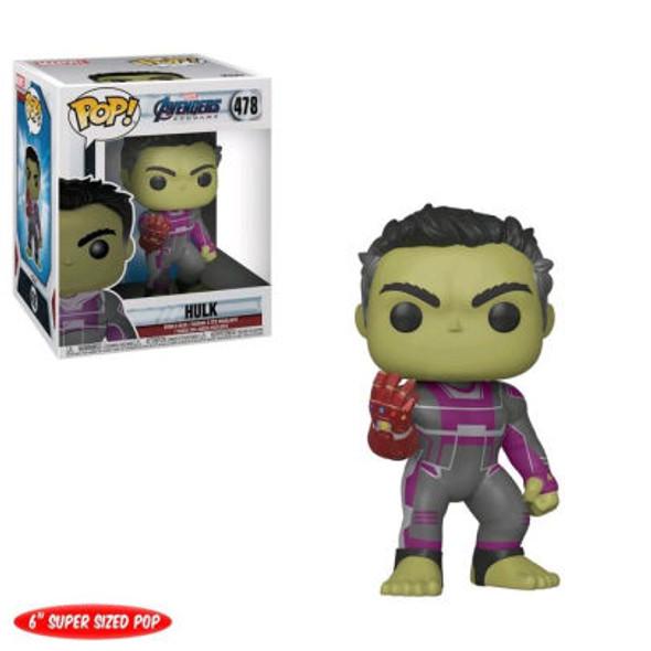 """Funko - POP! Marvel: Avengers Endgame- Hulk 6"""""""