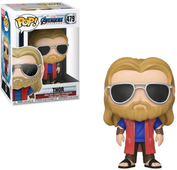 Funko - POP Marvel: Avengers Endgame - Casual Thor