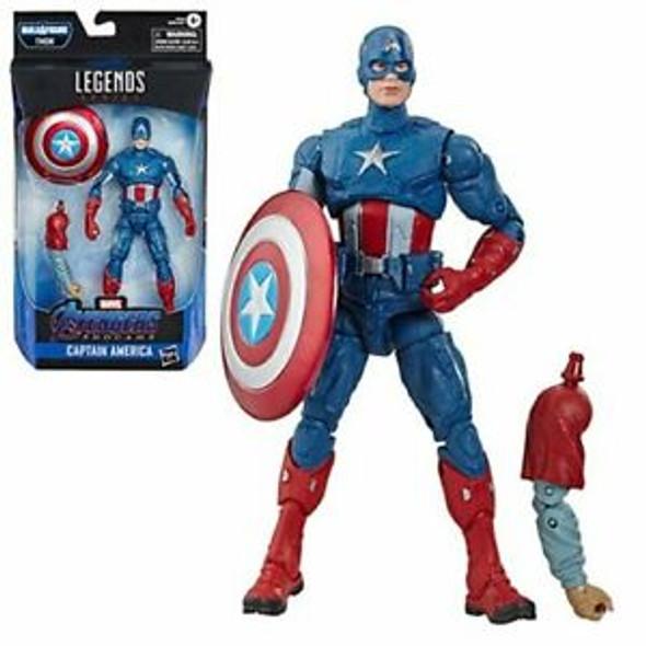 "Avengers Marvel Legends Series Endgame 6"" Collectible Action Figure Captain America"