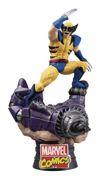 Beast Kingdom Marvel Comics Wolverine D-Stage