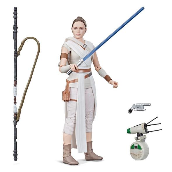 Star Wars The Black Series Rey & D-O Figure
