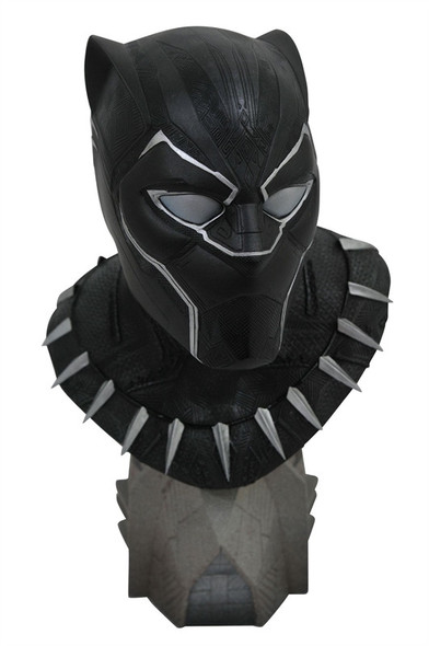 Legends in 3-Dimensions: Black Panther Movie 1: 2 Scale Bust