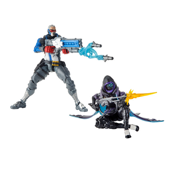 Overwatch Ultimates Series Soldier: 76 & Shrike (Ana) Skin 2 Pack